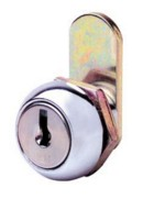 CL001 Key Round Face Camlock 16mm