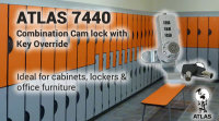 Combination Cabinet Locks