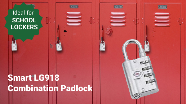 Smart LG918 Combination Padlock - Ideal for School Lockers