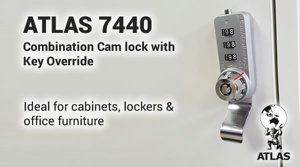 Atlas LG7440 Combination Cam Lock - Click here