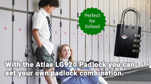 Smart LG920 Combination Padlock - Set Your Own Padlock Combination